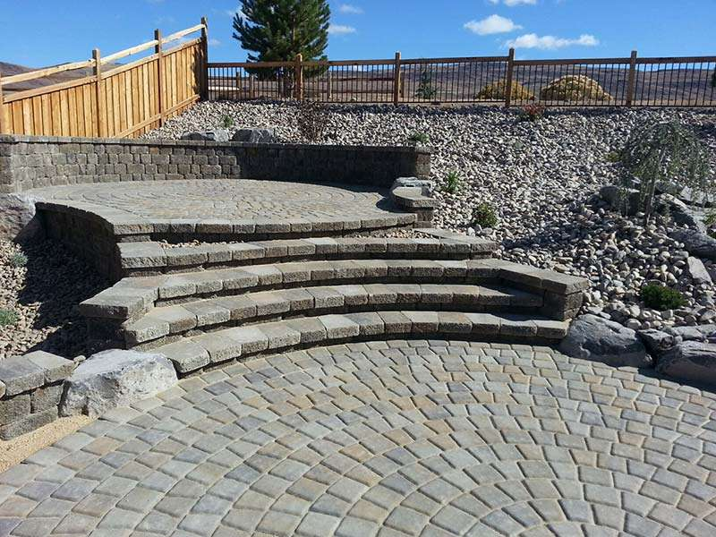 Paver landscaping