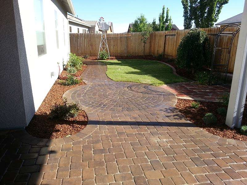 Custom Paver Backyards
